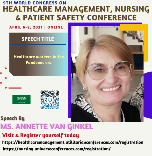 Ms. Annette Van Ginkel
