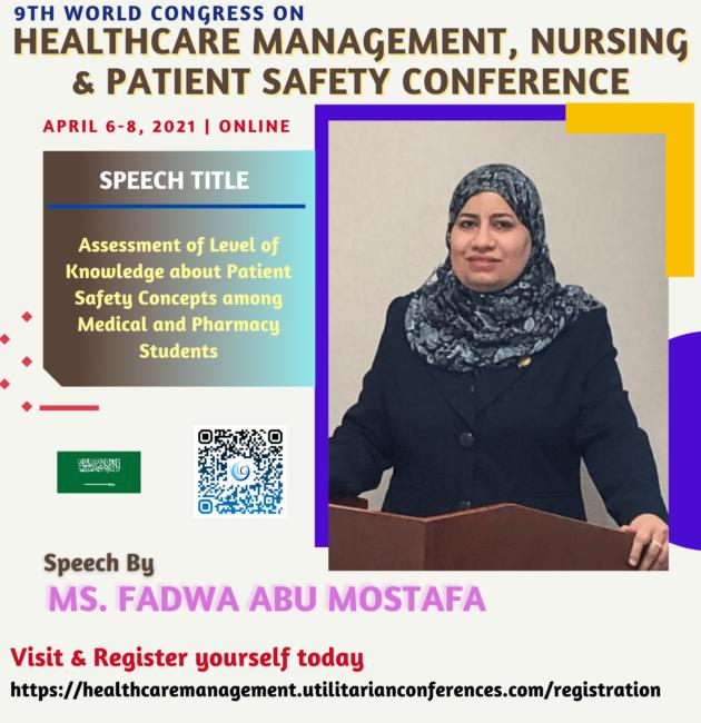 Ms. Fadwa Abu Mostafa