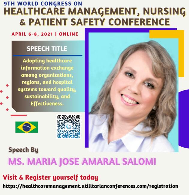Ms. Maria Jose Amaral Salomi