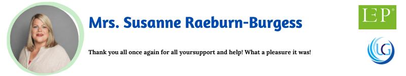 Mrs. Susanne Raeburn-Burgess_Nursing, Healthcare Management and Patient Safety UCGConferences